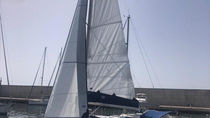 RO265 Fabricación por Velas Hood de Mayor, Lazy bag, Genova enrollable, Genaker y almacenador
